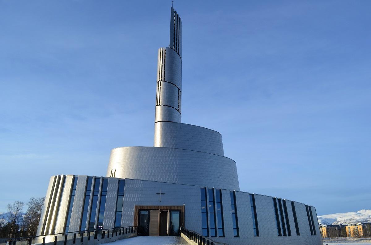 alta noorderlicht kathedraal