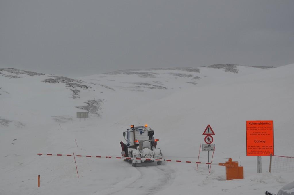 noordkaap sneeuwschuiver